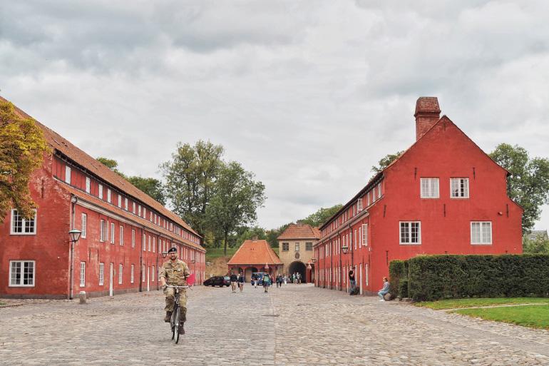 Visite du kastellet, la citadelle de Copenhague