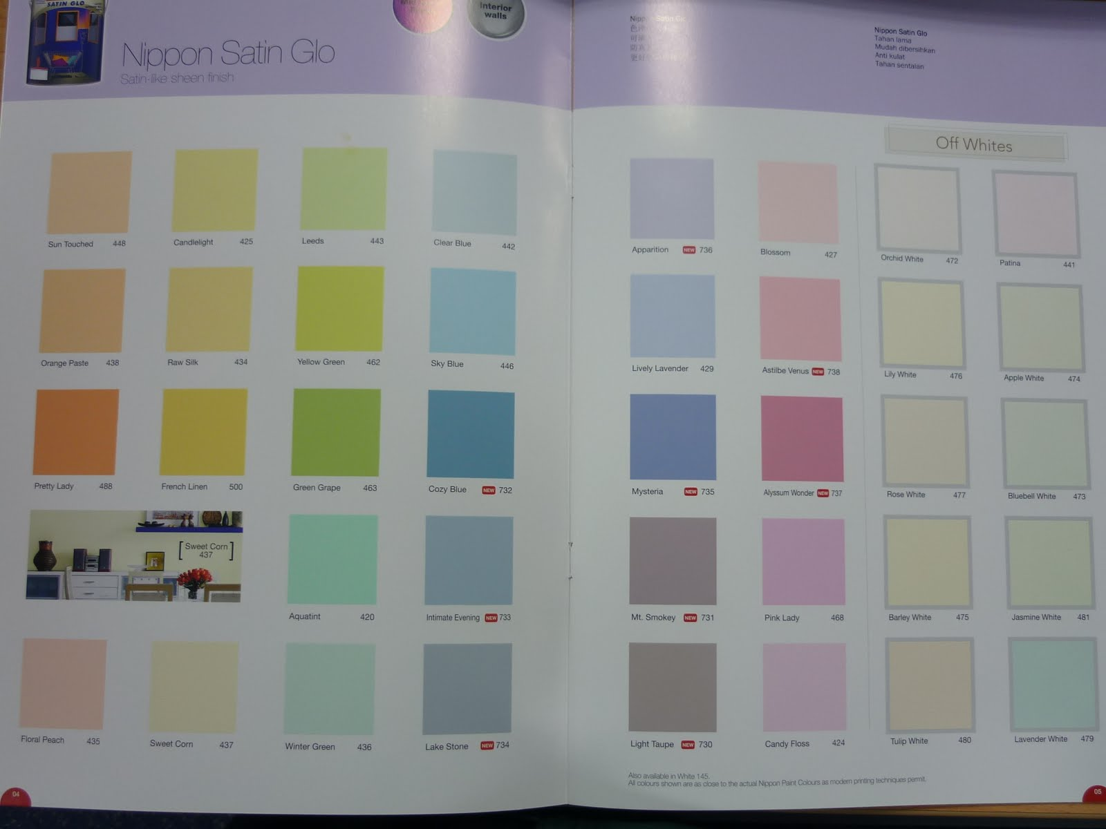 Nippon Paint Colour Chart 2010 Http
