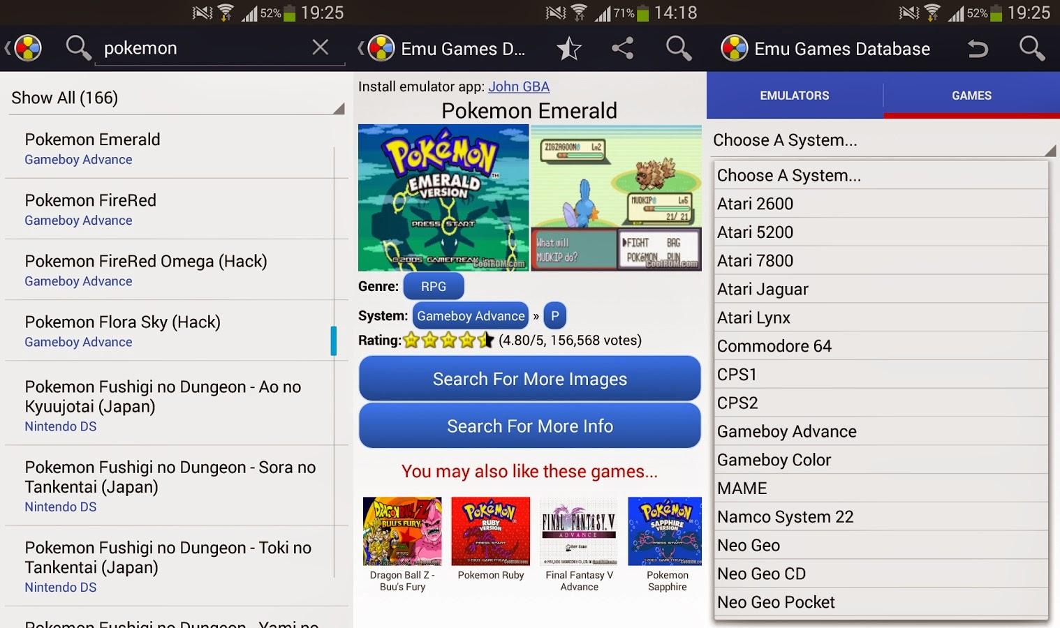 Emulator Games Database | Download APK For Free (Android Apps)