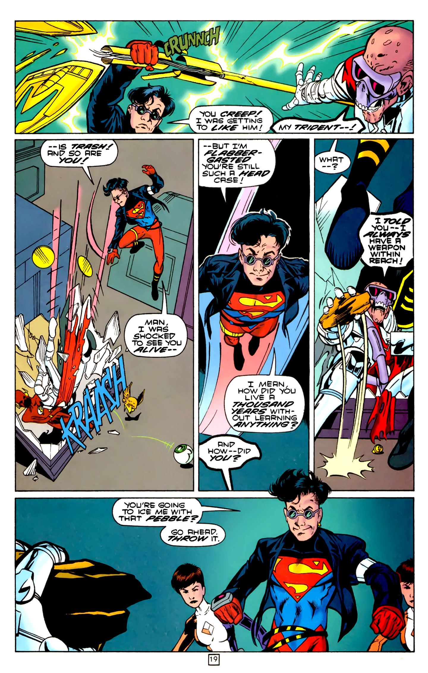 Legion of Super-Heroes (1989) 74 Page 19