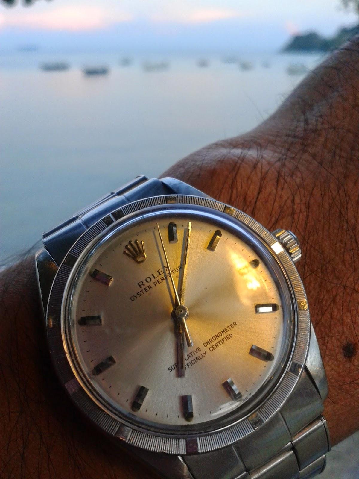 Jam Masa: Tangan + jam = Jam tangan