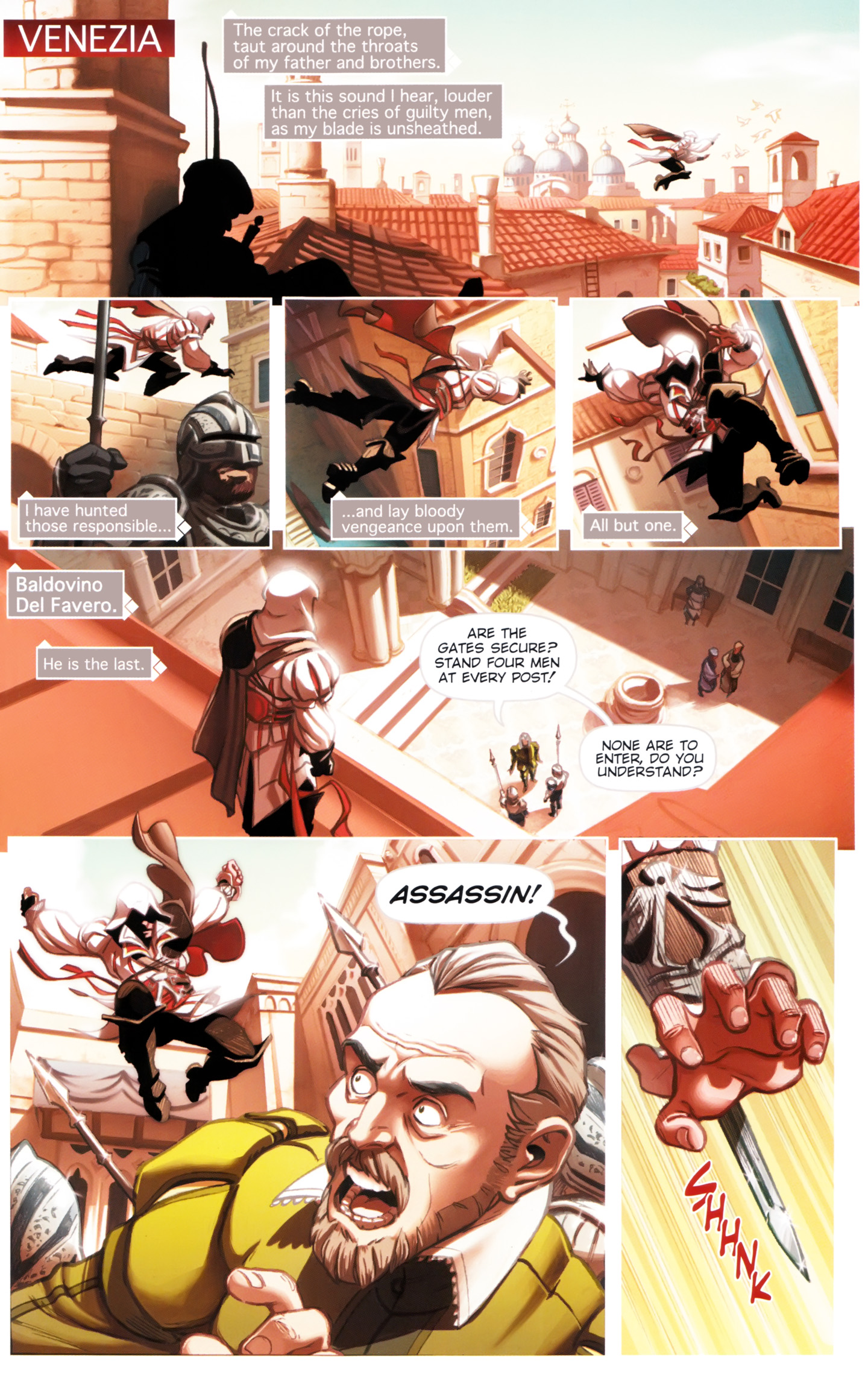Read online Assassin's Creed: The Fall comic -  Issue #Assassin's Creed: The Fall _TPB 1 - 15