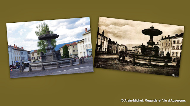 Ambert, la fontaine