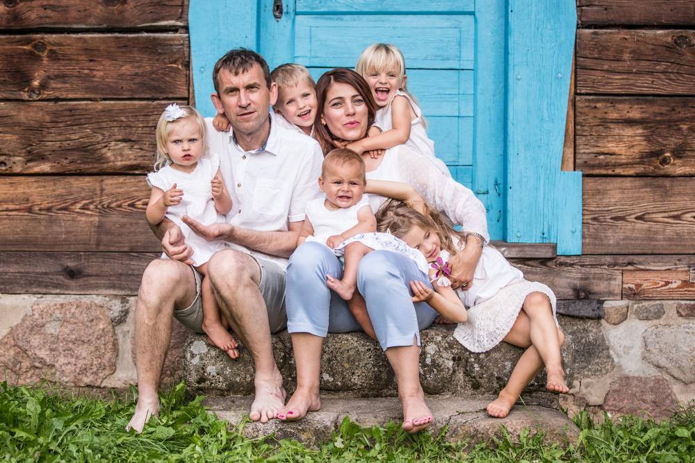Sesja rodzinna Olsztyn