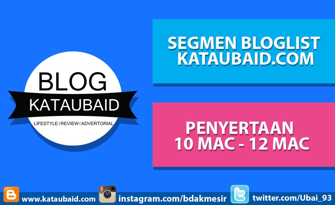 Segmen Bloglist Kataubaid.com Mac 2016