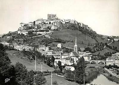 CPA saint flour, Cantal, Auvergne