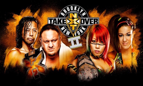 WWE NXT TakeOver Brooklyn 2 20 August 2016