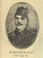 İlk Türk hava postasını taşıyan pilot Nuri Bey