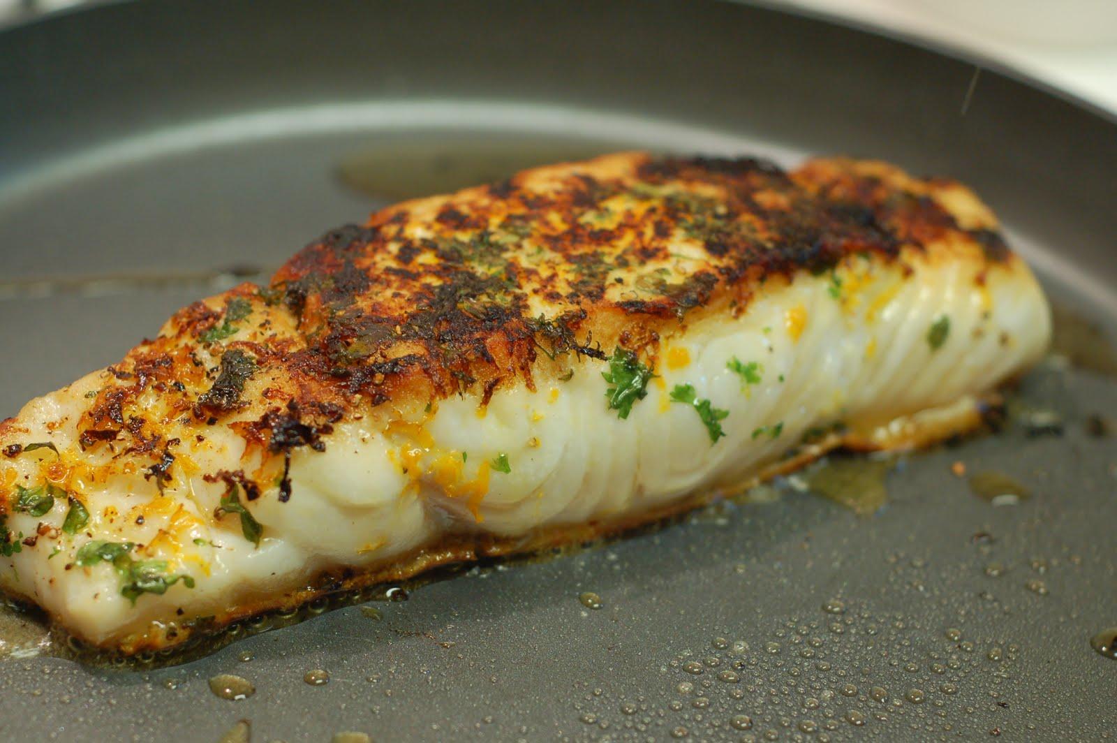 Halibut with Orange Butter Sauce - lb's good spoon Alaskan Halibut Dish
