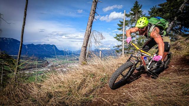 Mountainbike Tour Wörgl Schöne Aussicht E-Bike Anfänger Fortgeschrittene