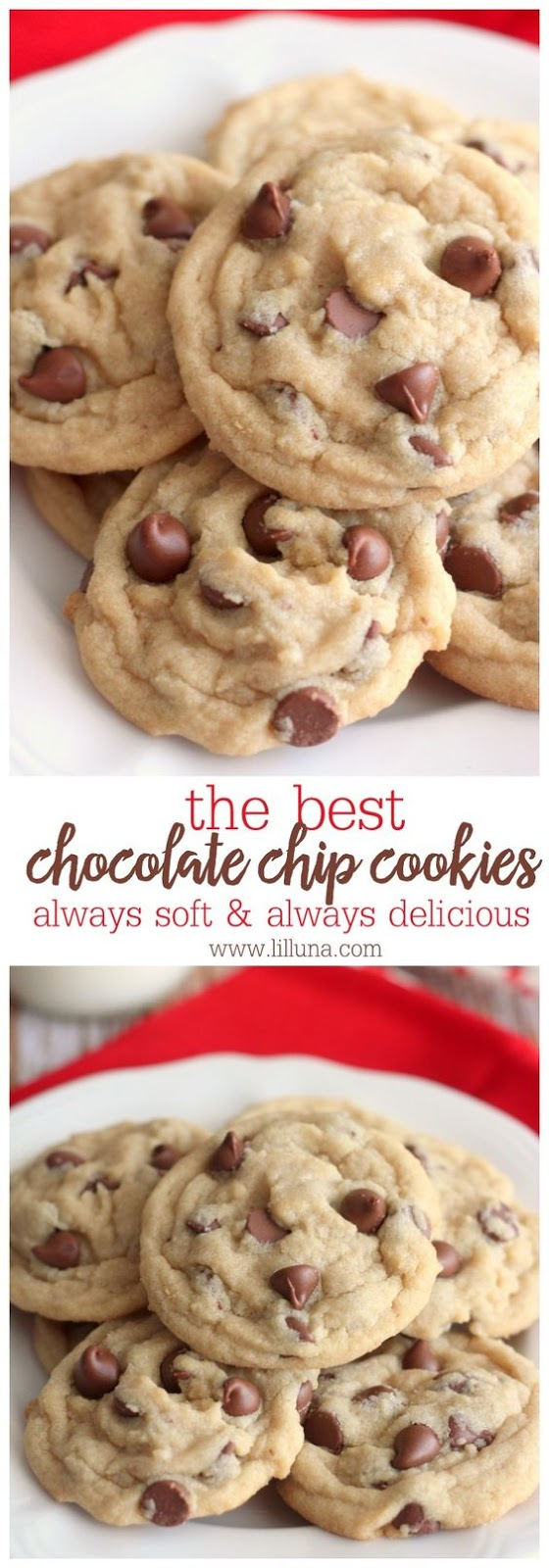 THE BEST CHOCOLATE CHIP COOKIES RECIPE #chocolate #chocolatechip #cookies #cookiesrecipes #chocolatechipcookies