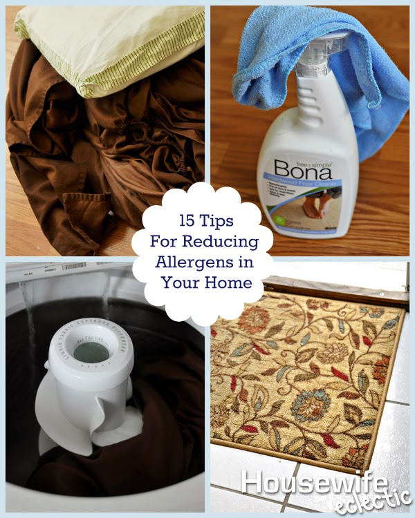 15 Ways To Reduce Allergens In Your Home Housewife Eclectic