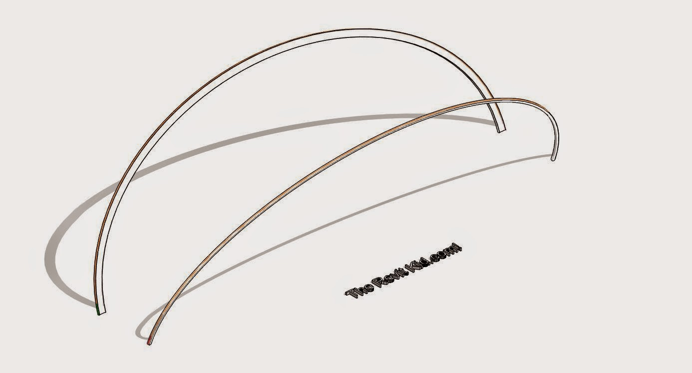 Revit Tutorial - Angled Arched Beams   TheRevitKid com