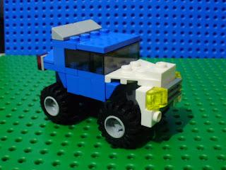 MOC LEGO Veículo todo-o-terreno azul