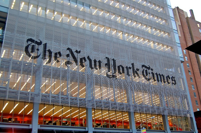 The New York Times Building em Nova York