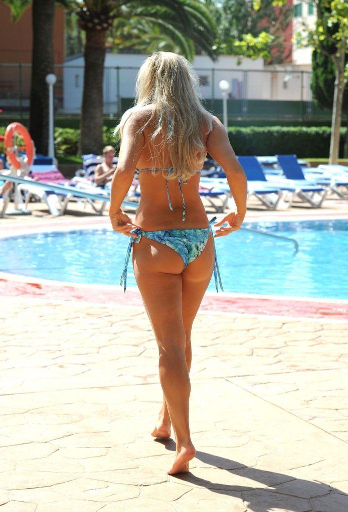 Beach Mckenna Pautsch Green Bikini Cliphunter 1