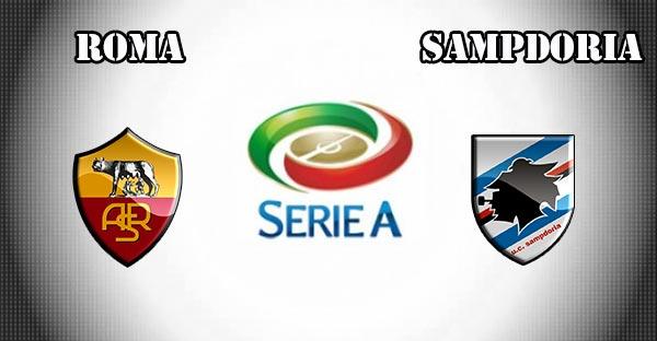 مباراة روما وسامبدوريا  اليوم  yalla shoot