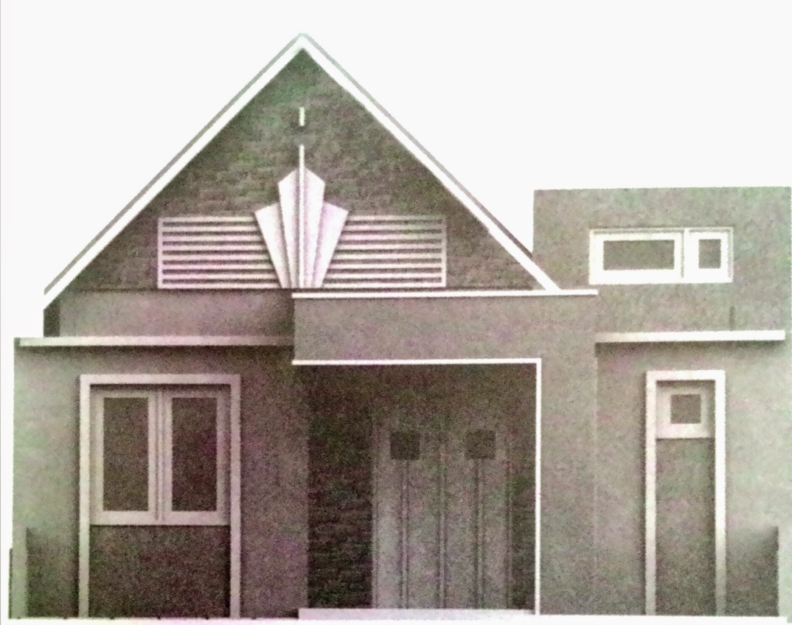 Plan And Type Houses : The house in the land 8m x 10m