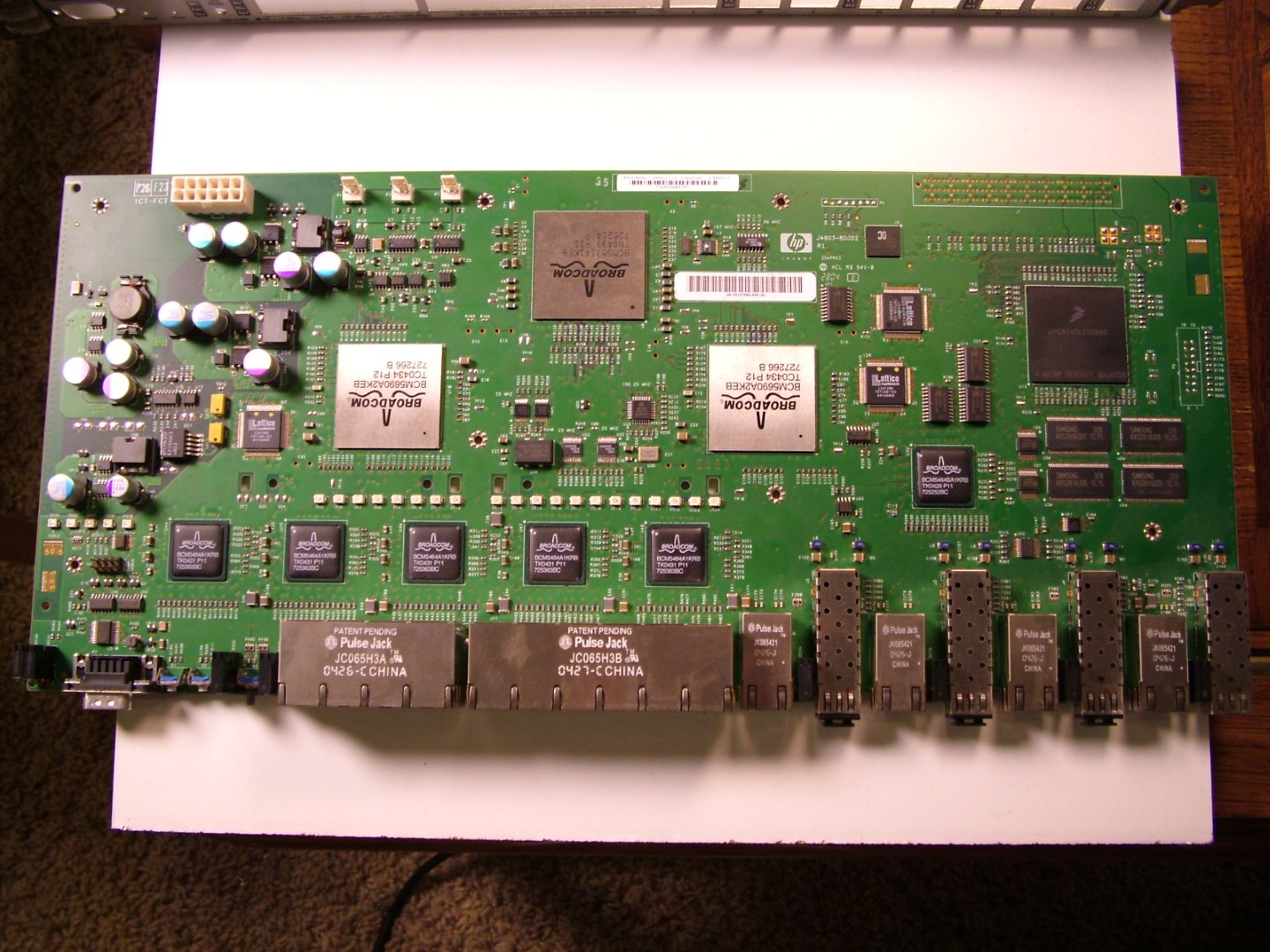 The Life of Kenneth: Tear-Down of an HP ProCurve 2824 Ethernet Switch