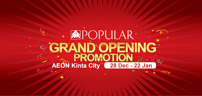 Popular Book Grand Opening Promo