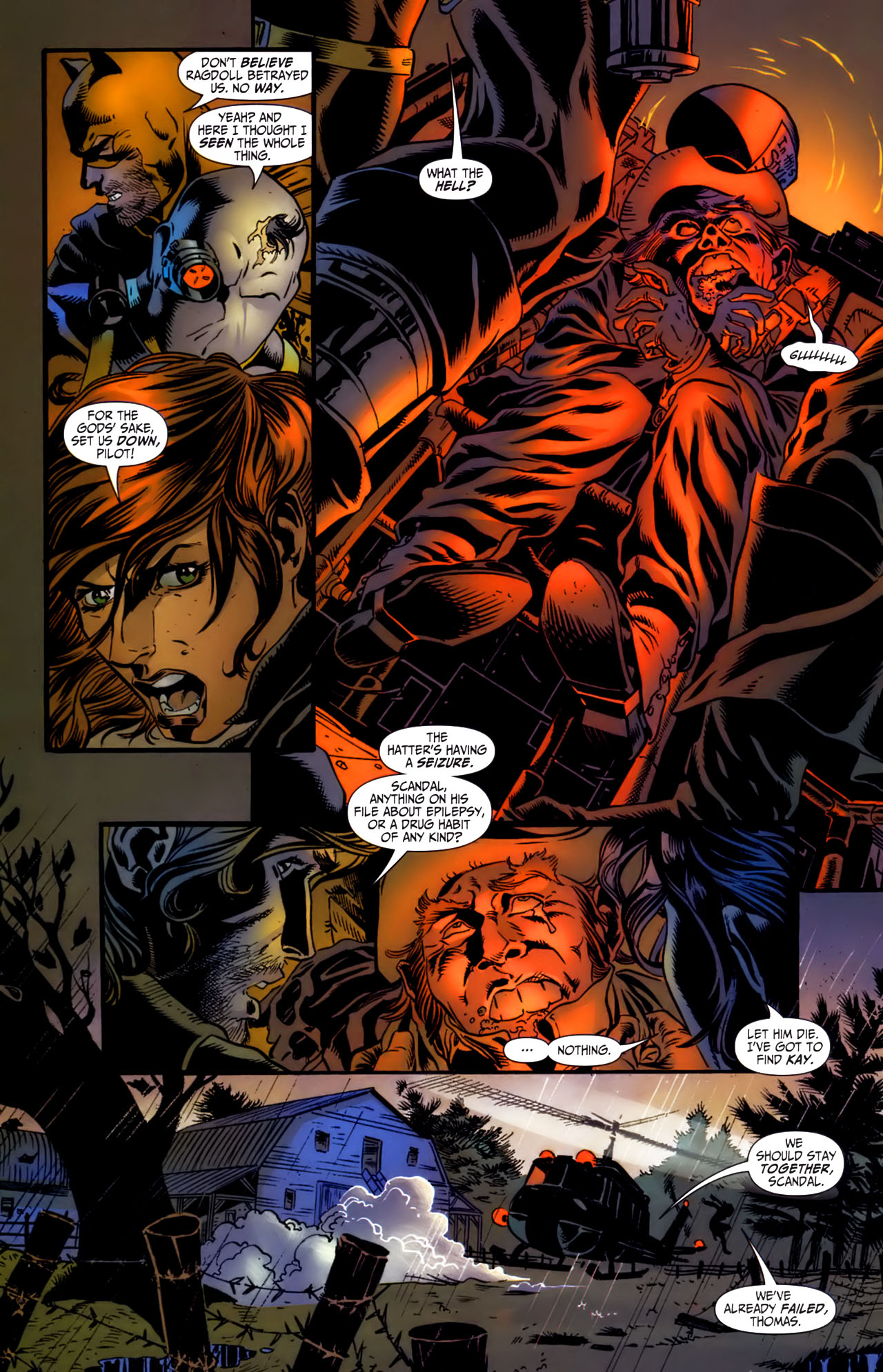 Read online Secret Six (2006) comic -  Issue #3 - 20