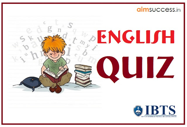 English Questions for SBI PO/Clerk 2018: 21 May