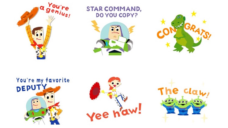 toy story apple ios sticker packs review disney