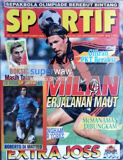 Majalah Sportif - Milan Perjalanan Maut