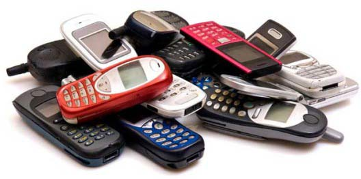 total mobile phones sell in 2012