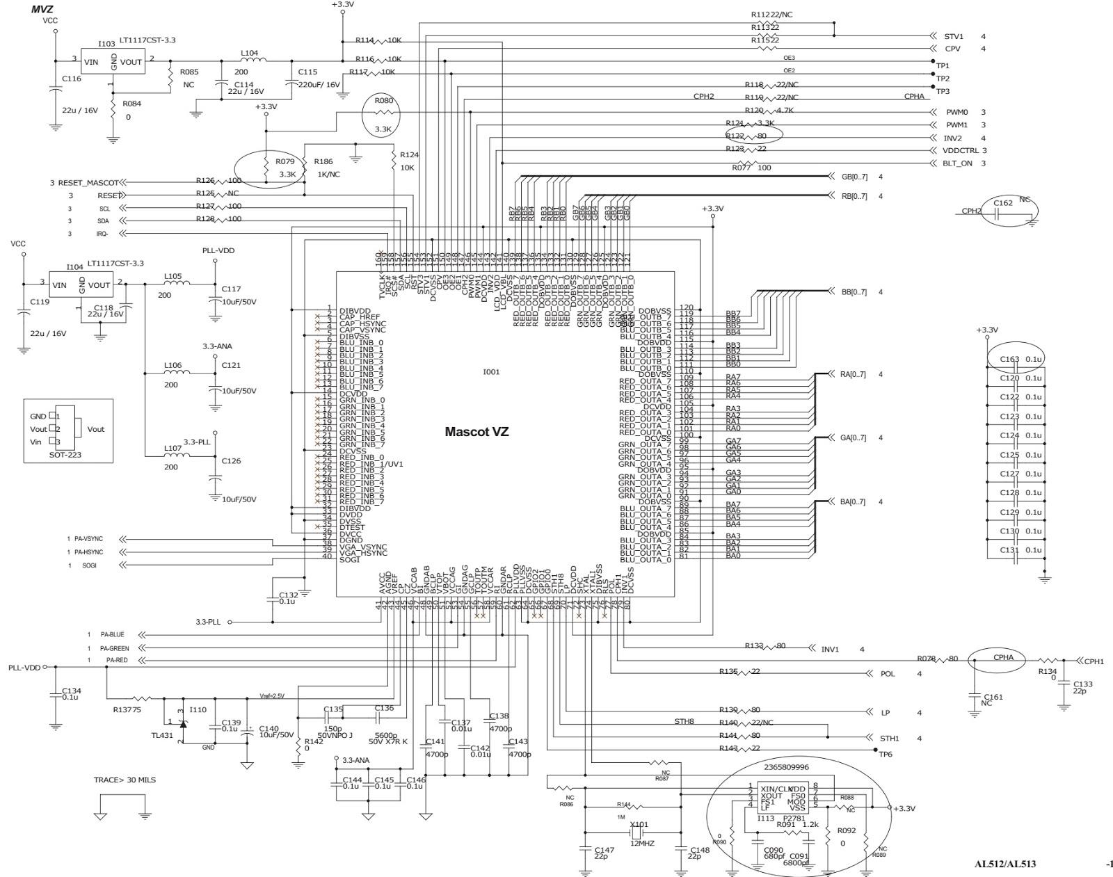 acer lcd monitor circuit diagram