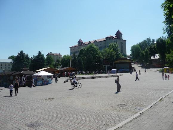 Трускавец. Площадь Независимости
