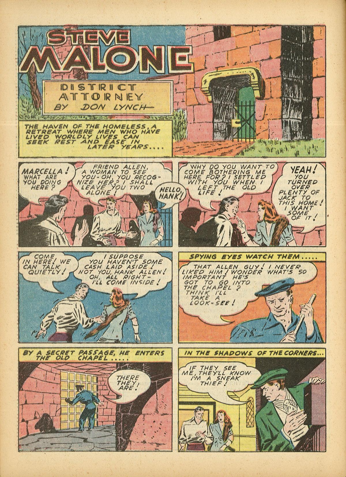 Read online Detective Comics (1937) comic -  Issue #55 - 52