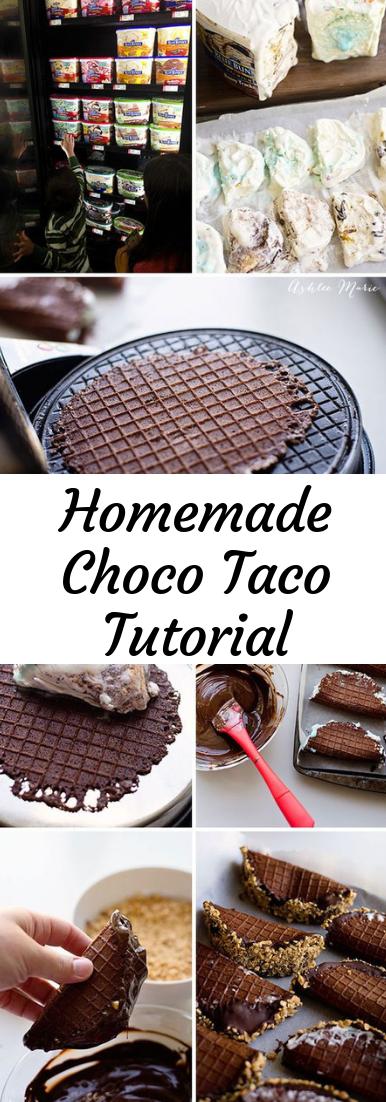 Homemade Choco Taco Tutorial