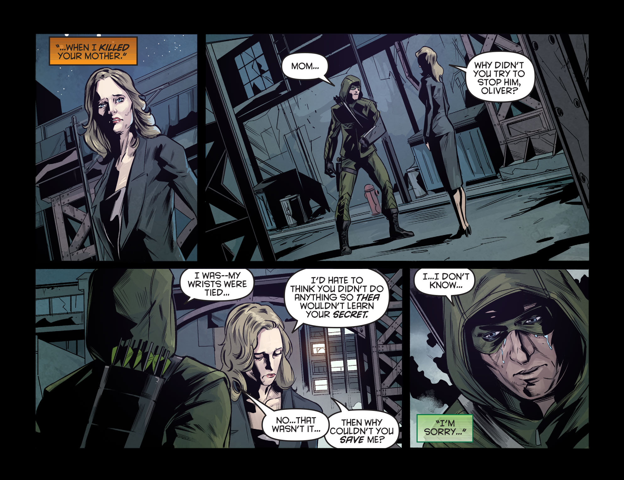 Read online Arrow: Season 2.5 [I] comic -  Issue #7 - 16
