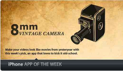 8mm Vintage Camera, Create Old Videos with IPhone