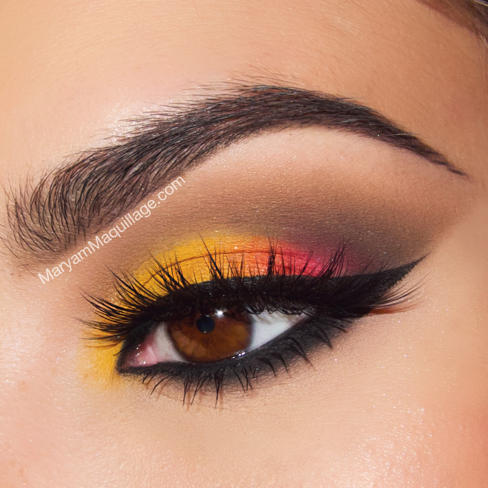 Maryam Maquillage: Fashion & Beauty: Spring Sunset Style