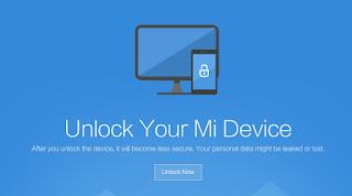 Cara Unlock Bootloader Smartphone Xiaomi Semua Tipe