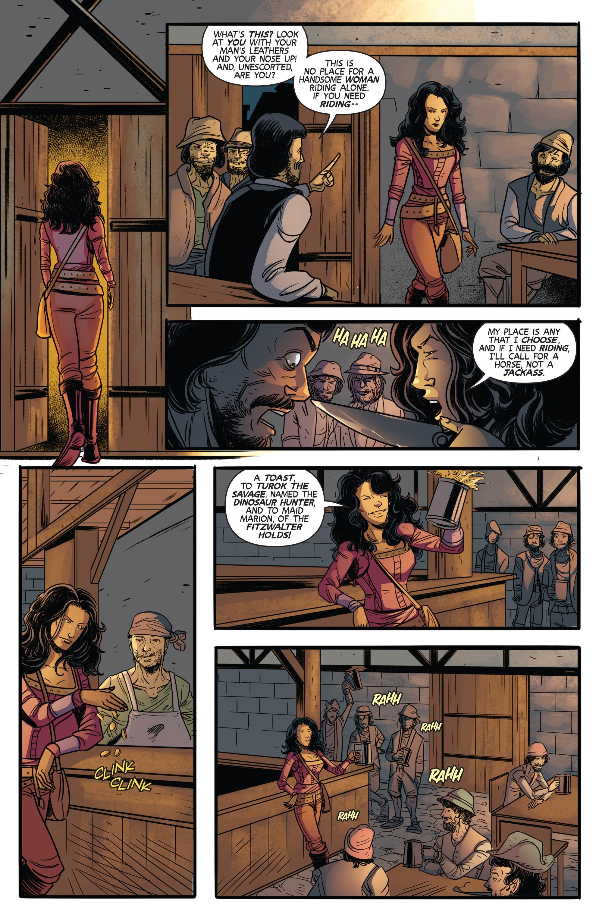 Read online Turok: Dinosaur Hunter (2014) comic -  Issue # _TPB 3 - 60