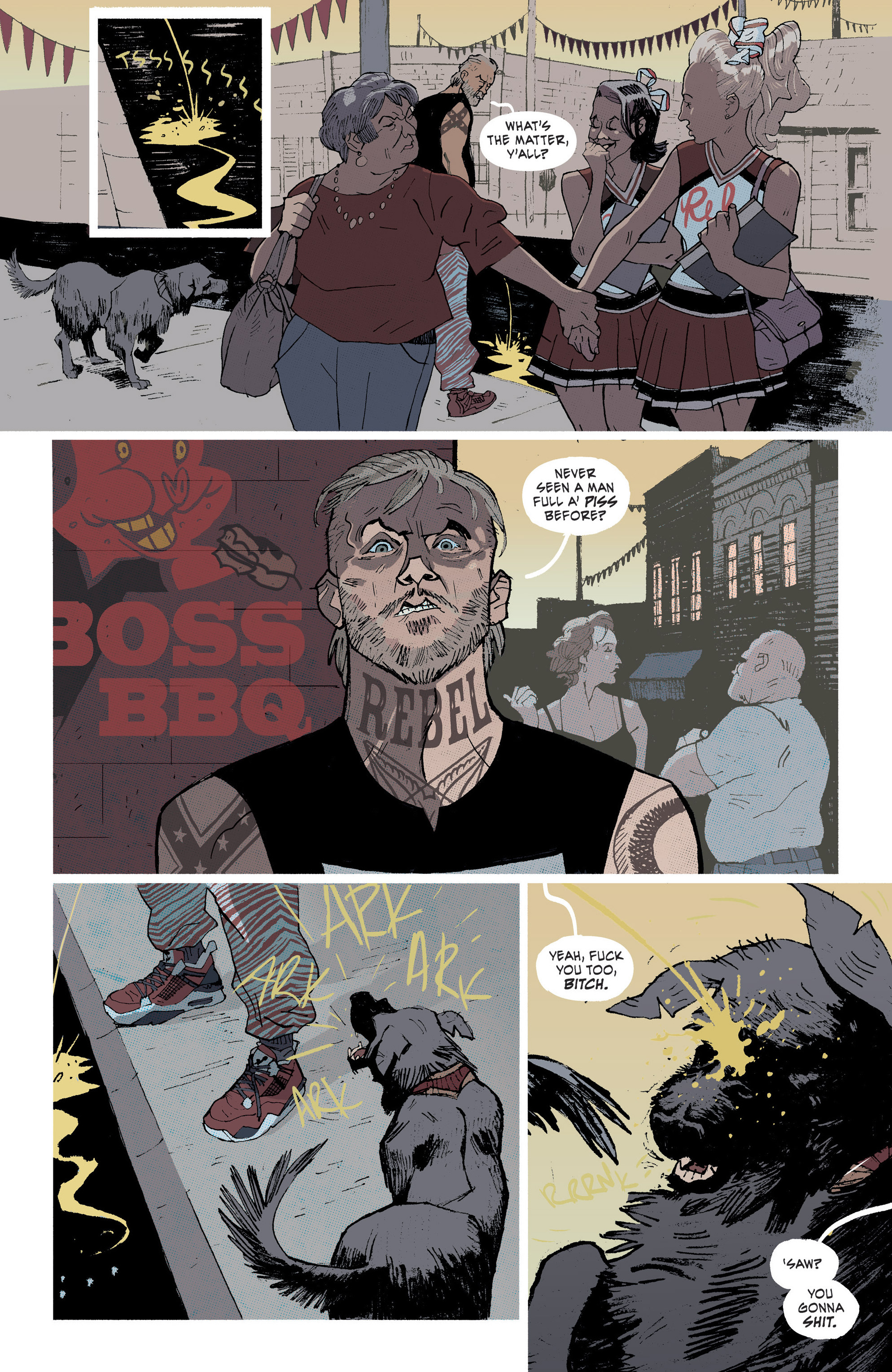 Read online Southern Bastards comic -  Issue #1 - 15