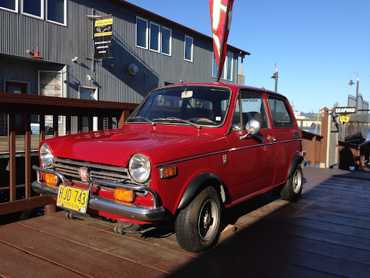 1970 Honda N600 on Pier at Newport Oregon