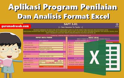Aplikasi Program Penilaian dan Analisis