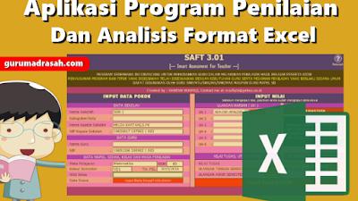 Aplikasi Program Penilaian dan Analisis Format Excel