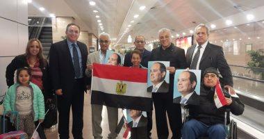 فوج مصري أمريكي في زيارة لمسار العائلة المقدسة بمصر
