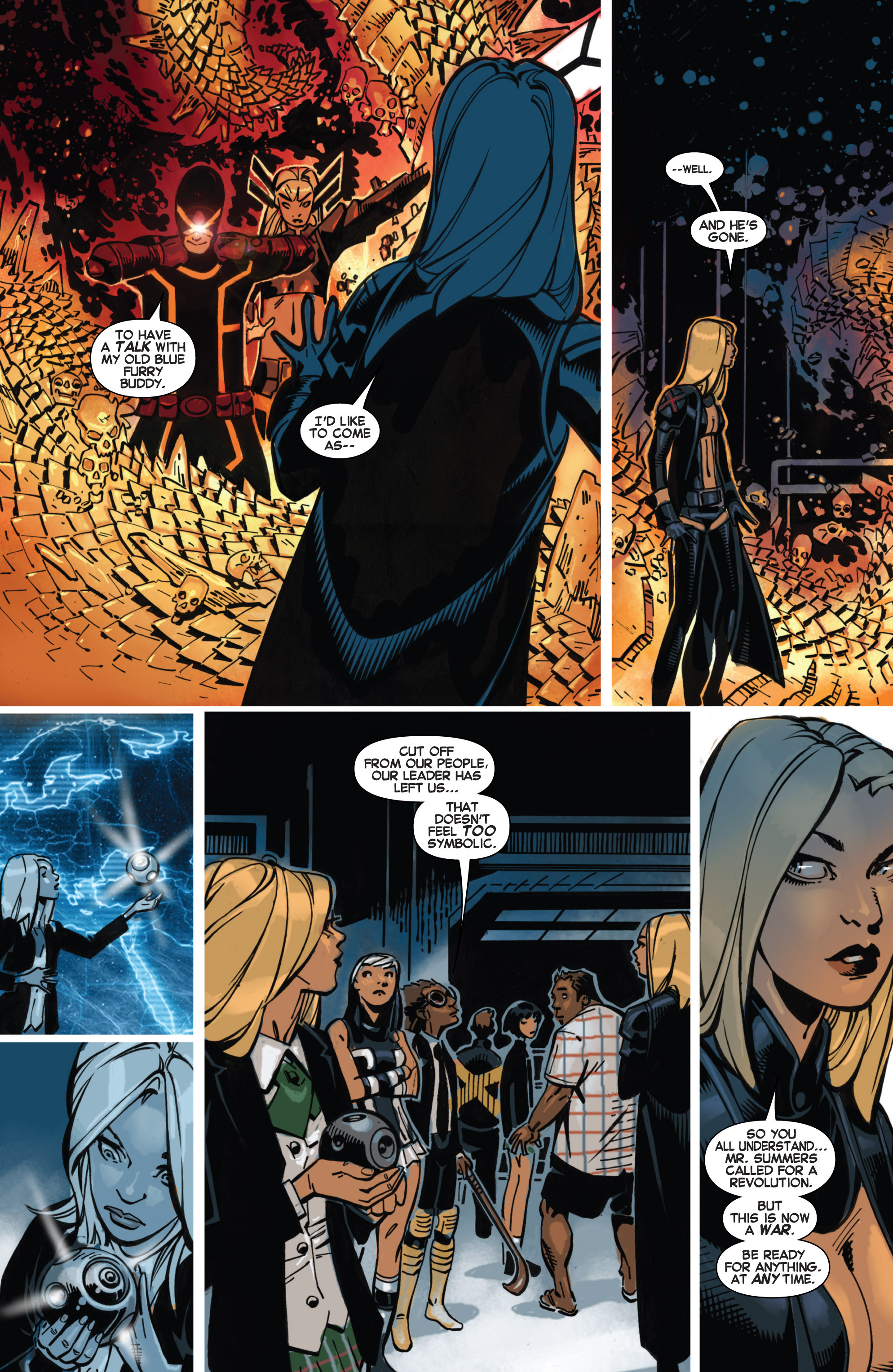 Read online Uncanny X-Men (2013) comic -  Issue # _TPB 4 - vs. S.H.I.E.L.D - 38