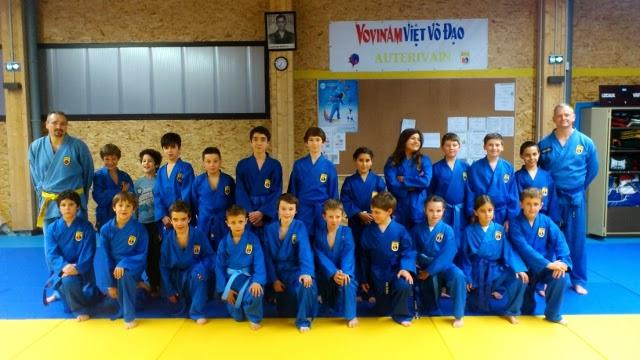 Un club tourné vers les enfants  vovinam viet vo dao Toulouse