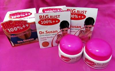 Harga Asli Cream Dr. Susan Pembesar dan Pengencang Payudara