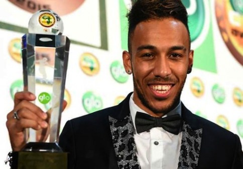 image result for Pierre-Emerick Aubameyang Glo African Footballer of the year