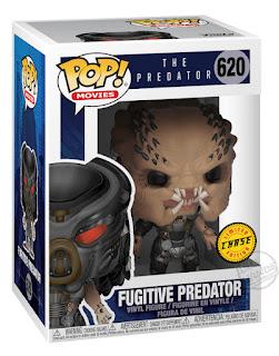 Funko Pop Vinyl Figures The Predator Fugitive Predator Unmasked Chase