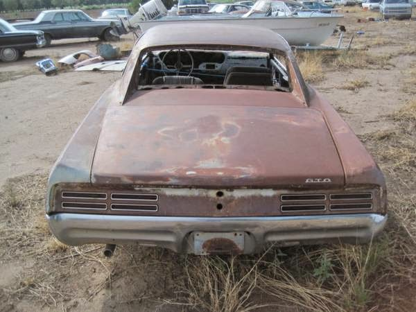 Restoration Project Cars 1967 Pontiac Gto Project