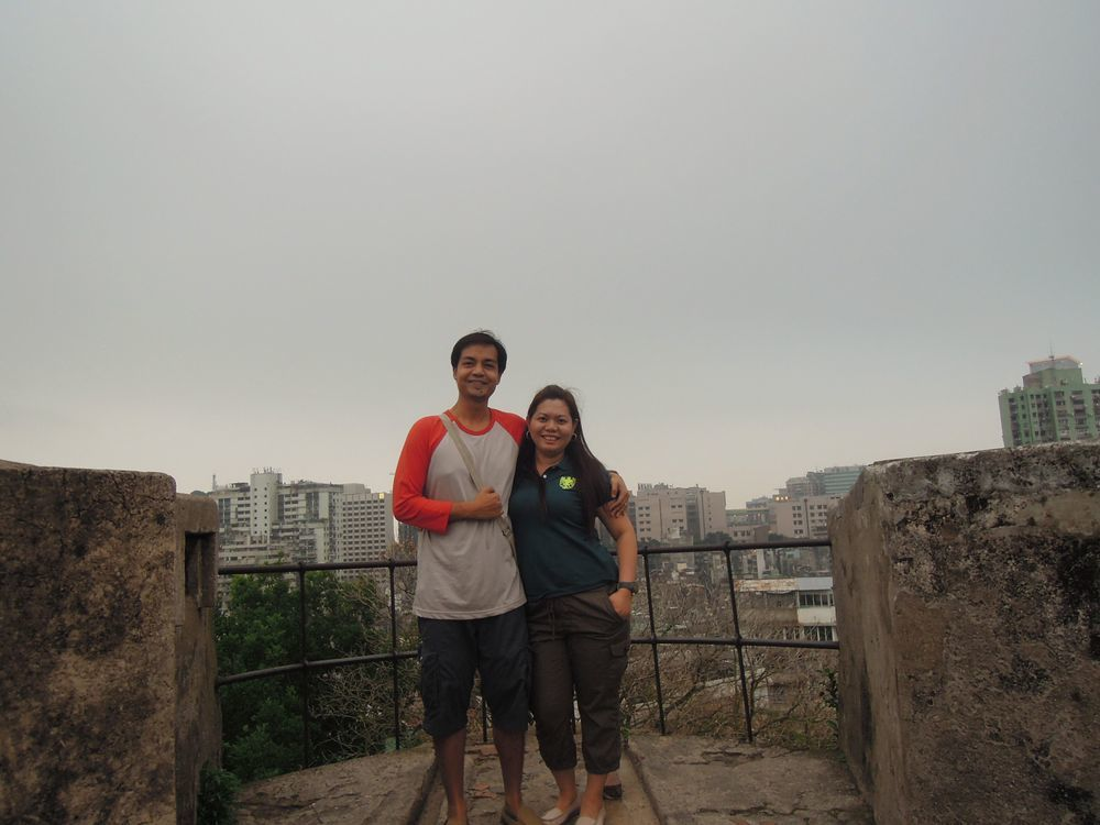 Walking around Fortaleza do Monte
